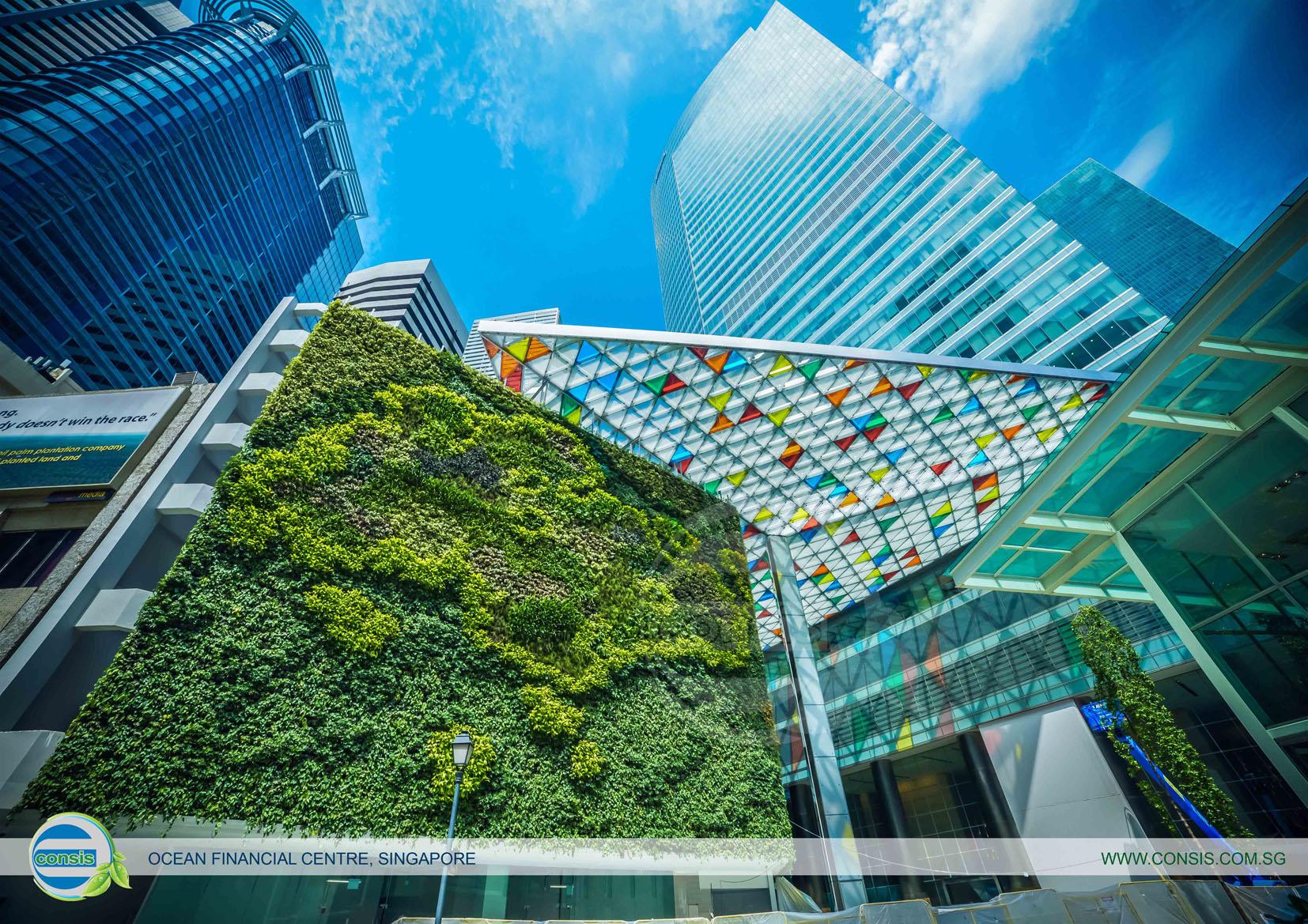 中国第一家由中外合资的经营立体绿化事业的公司