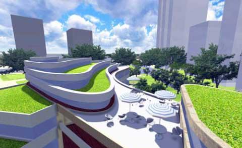 屋顶绿化:既要景观美,又要生态美