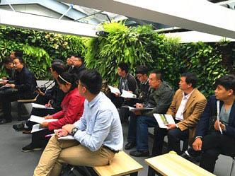 我公司员工参加北京立体绿化技术实操培训班学习